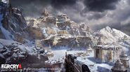 Far Cry 4 DLC Valley of the Yetis concept art by XuZhang (37)