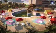 Farcry3 early-concept hotel-pool scrapped-idea