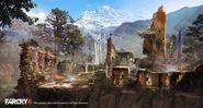 Farcry4 ruins by donglu yu additions 01