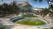 Farcry3 early-concept hotel-pool3 scrapped-idea