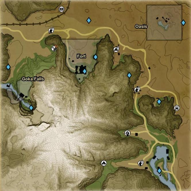 FC2 Detailed map NE