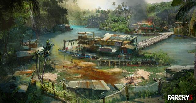 Archivo:Concept Art Fishermans Village.jpg