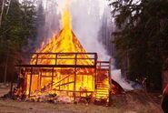 088 cabin fire