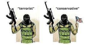 177 terrorist conservative