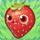 Strawberry on grass
