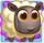 White sheep on slime