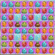 Level 173 filled with slime