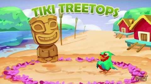 Official Farm Heroes Saga - Episode 54, Tiki Treetops