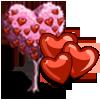 Cinnamon Heart Tree-icon