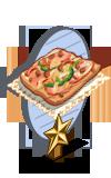 Pizza Bread 1 Star Mastery Sign-icon