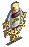 Herbal Elixir 5 Star Mastery Sign-icon