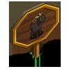 Black Rove Goat Mastery Sign-icon