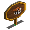 Red Panda Mastery Sign-icon