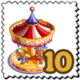 Spinny Horseride Stamp-icon