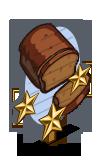 Pumpkin Bread 3 Star Mastery Sign-icon