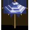 Blue Umbrella-icon