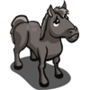 Found Gray Horse