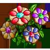 Colored Pretzel Flowers-icon