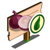 Organic Onion Mastery Sign-icon