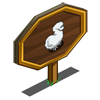 Silkie Chicken Mastery Sign-icon