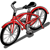 Red Bicycle-icon