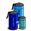 Blue Fireworks-icon