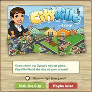 CityVille Message