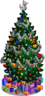 Holiday tree 80-99 gifts