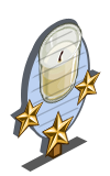 Restoring Candle 3 Star Mastery Sign-icon