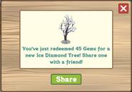 Ice Diamond Tree Redeemed