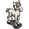 White Thoroughbred Foal-icon