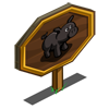 Black Pig Mastery Sign-icon