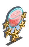 Fresh Breeze Candle 5 Star Mastery Sign-icon