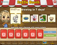 Raffle Booth Draw September 5 2011