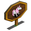 Pink-Hair Pony Mastery Sign-icon