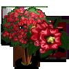 Red Rocket Crape Tree-icon