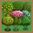 Harvest trees types icon