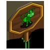 Green Calf Mastery Sign-icon