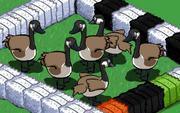Brown Goose Gaggle