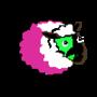 Three toned masked Ewe