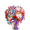 Glam Feather Tree-icon