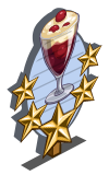 Red Currant Trifle 5 Star Mastery Sign-icon