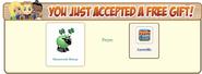 Shamrock Sheep FarmVille Free Gift Accepted