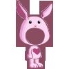 Pink Rabbit Costume-icon