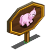 Pink Persian Cat Mastery Sign-icon