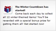 Winter Countdown Ad