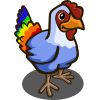 Rainbow Chicken-icon