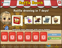 Raffle Booth Draw April 16 2012