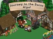 Swiss Alps Loading Screen