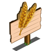 Amber Grain Mastery Sign-icon